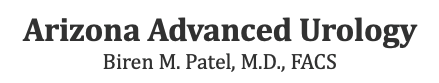 Arizona Advanced Urology – Biren M. Patel, M.D., FACS